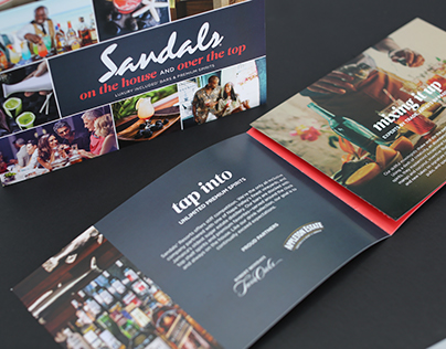 Sandals Premium Spirits Trifold