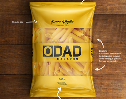 O'DAD - Packaging design
