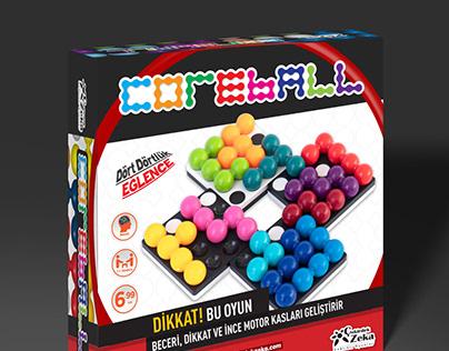 CoreBall Game Box Design