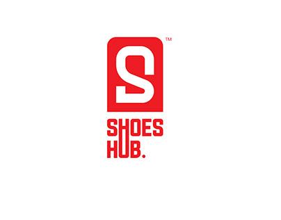 Shoes Hub Shop Logo And Branding