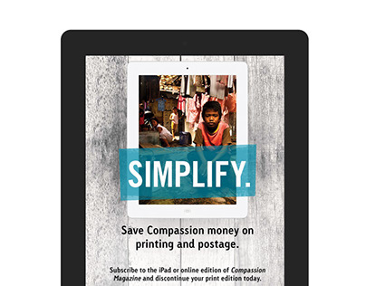 Compassion International Interactive Ad