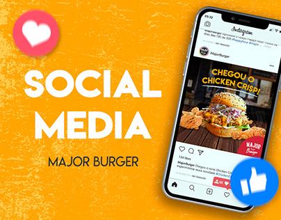 Social Media - Major Burger