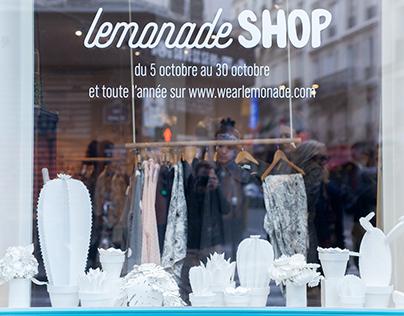 Vitrines Lemonade Shop