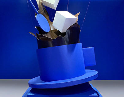 Paper Art Installation for Coffeeworld Los Angeles