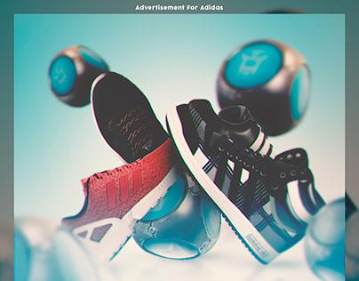 Advertisement Adidas x Fortnite