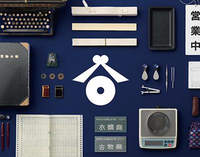 Taniguchi Shichiten Rebranding Graphic