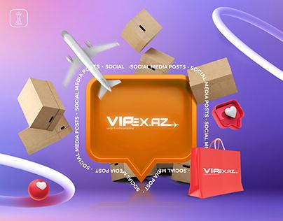 VIPEX.AZ Social Posts