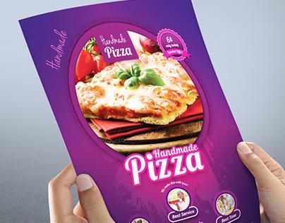 Handmade Pizza / Food Flyer Template