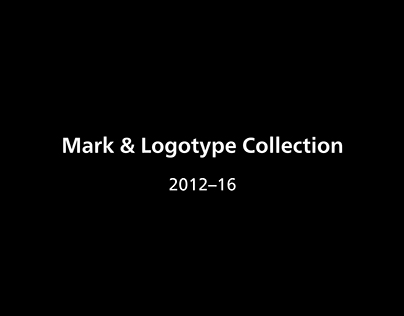 2012–16 Mark & Logotype Collection