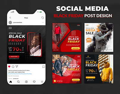 Black Friday Bundle Social Media Post Template