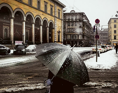 Munich, an unusual Winter ...