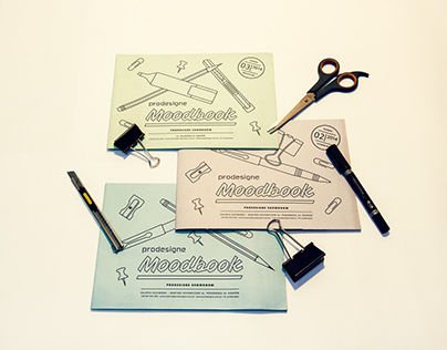 Prodesigne Moodbook brochures