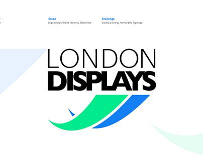 London Displays Logotype