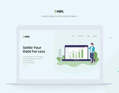 UI/UX Design for Financial Company