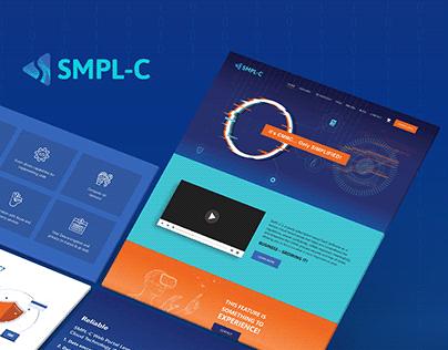 SMPL-C Website Design