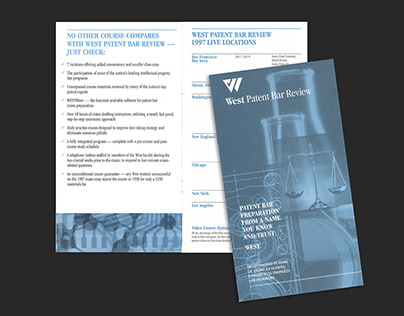 West Patent Bar Review Brochure