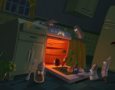 Kitchen gone wild
