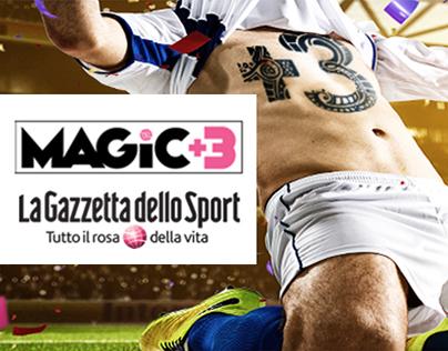 Magic +3 - Il fantacalcio della  Gazzetta dello Sport
