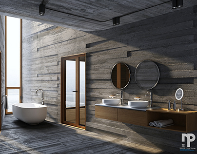 3d visualizations / interior design - bathrooms 2019
