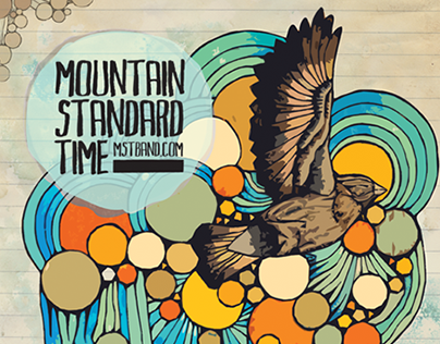 Mountain Standard Time 2010 tour poster