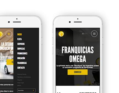 OMEGA - Branding - Website - Social Media