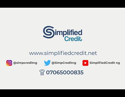 SimplifiedCredit Promo Video