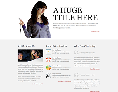 PSD to HTML Template