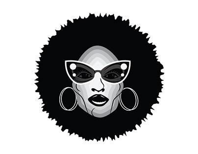 Cool woman vector image