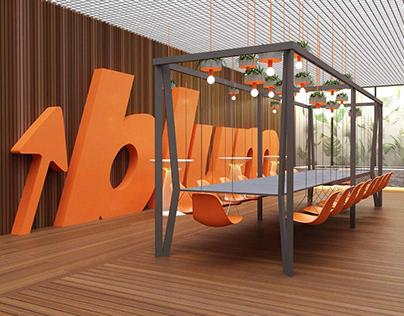 Design of show-room BLUM