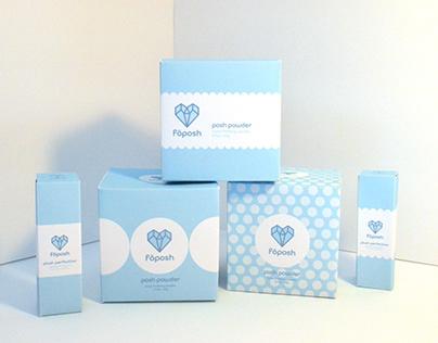Fōposh   Branding, Packaging Design