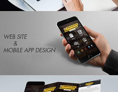 Mesleki Dayanışma Web & Mobile App Design