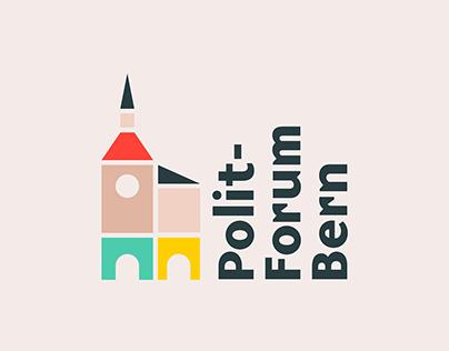 Brand Identity, UX / UI Design Polit-Forum Bern