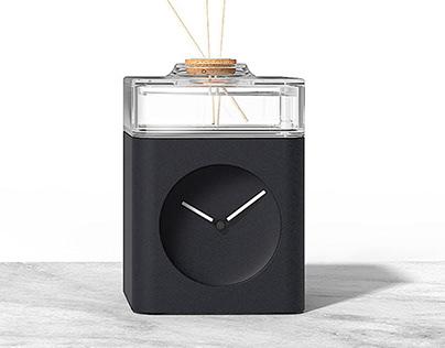 Closer. Clock diffuser