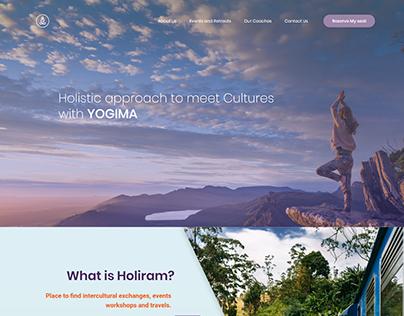 Yogima Landing Page