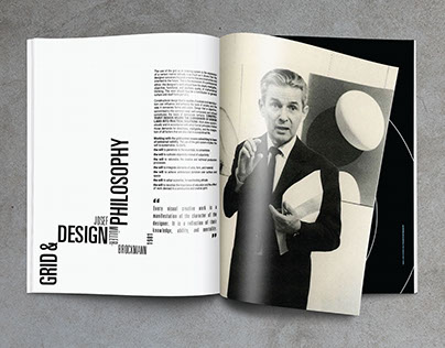 Grid and Design Philosophy | magazine layout
