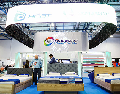 Multimedia Exhibition Stand - Interfoam-Holding