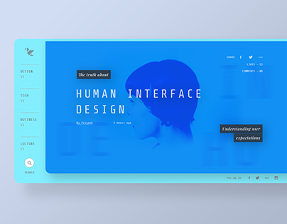 Blog UI Inspiration