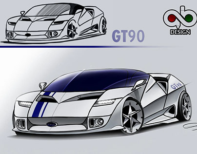 improve the ford gt90 quick sketch