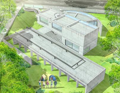 #archanime V01 Koshino House by Tadao Ando