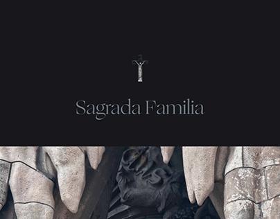 Basilica de la Sagrada Familia. New website