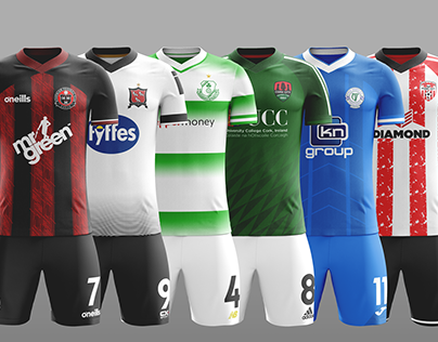 Soccer Kit Concepts - League of Ireland (Part 1)