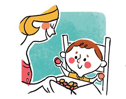 Children book activities