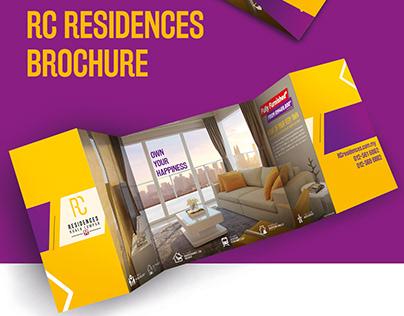 Brochure design for RC residences (Property developer)