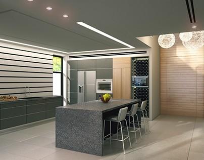 """עיצוב של בית פרטי בראשון לציון ע""""י המעצב דניאל וקנין"""