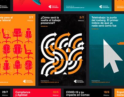 Posters Espacio Conexión – Vol 1