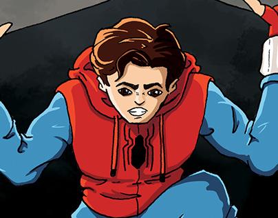 Spider-Man: Homecoming Fanart