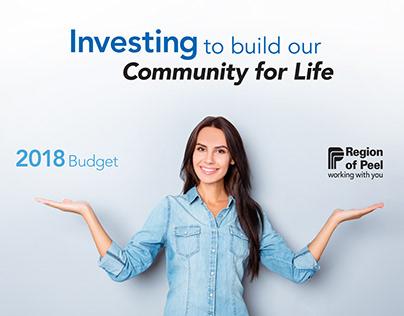 Region Of Peel 2018 Budget Document