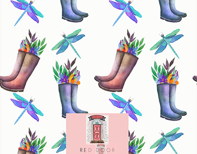 Dragonflies and wellies