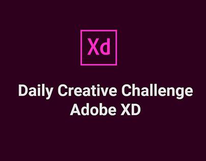 Daily Creative Challenge - Adobe XD