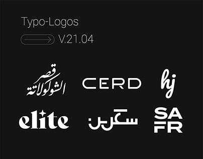 Typo-logos V.21.04
